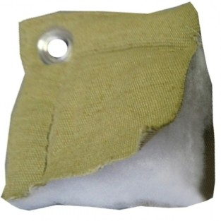 Тент утепленный (термомат) трехслойный брезент 5х5,с люверсами
